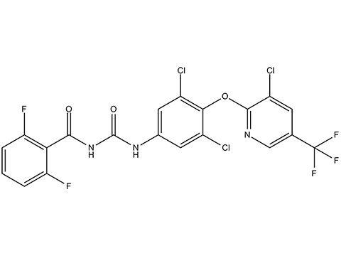 Хлорфлуазурон - Структурная формула