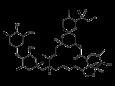 Аверсектин С - Структурная формула