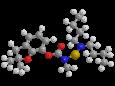 Карбосульфан - Трехмерная модель молекулы