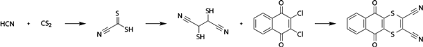 Дитианон - Получение дитианола