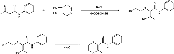 Карбоксин - Получение карбоксина