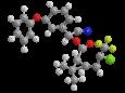 Гамма-цигалотрин - Трехмерная модель молекулы