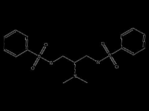 Бенсултап - Структурная формула