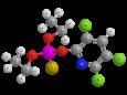Хлорпирифос - Трехмерная модель молекулы