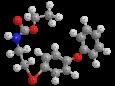 Феноксикарб - Трехмерная модель молекулы