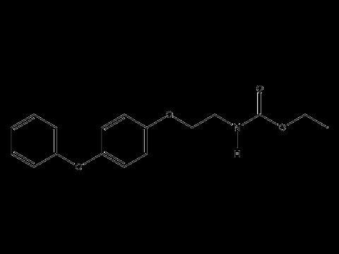 Феноксикарб - Структурная формула