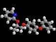 Пирипроксифен - Трехмерная модель молекулы