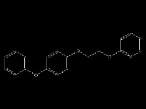 Пирипроксифен - Структурная формула