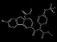 Индоксакарб - Структурная формула