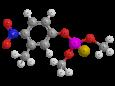 Фенитротион - Трехмерная модель молекулы
