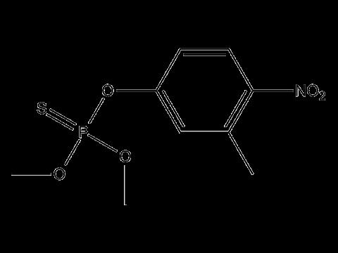 Фенитротион - Структурная формула