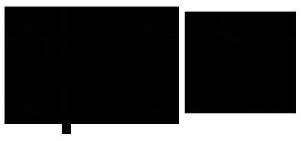 Хлорофос - Гидролиз в щелочной среде
