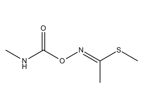 Метомил - Структурная формула