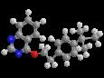 Феназахин - Трехмерная модель молекулы