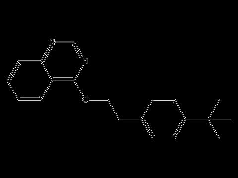 Феназахин - Структурная формула
