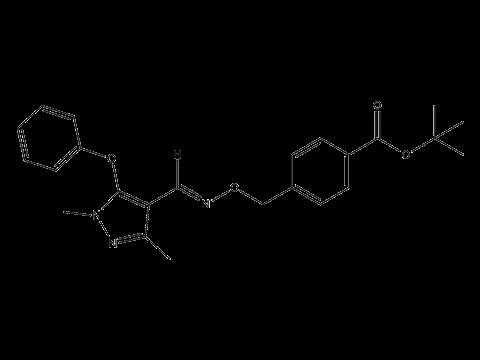 Фенпироксимат - Структурная формула