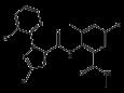 Хлорантранилипрол - Структурная формула