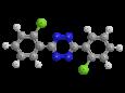 Клофентезин - Трехмерная модель молекулы