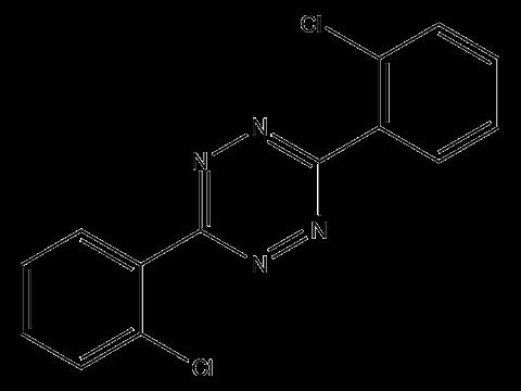 Клофентезин - Структурная формула