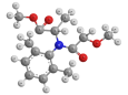Мефеноксам - Трехмерная модель молекулы