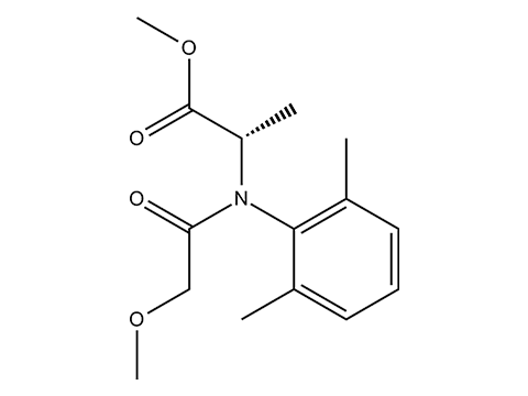 Мефеноксам - Структурная формула