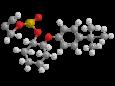 Пропаргит - Трехмерная модель молекулы