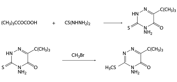 Метрибузин - Схема получения метрибузина