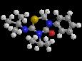 Бупрофезин - Трехмерная модель молекулы