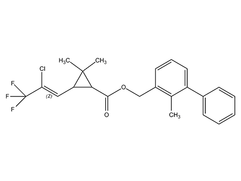 Бифентрин (Талстар) - Структурная формула