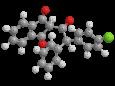 Хлорфасинон - Трехмерная модель молекулы