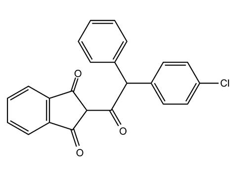 Хлорфасинон - Структурная формула