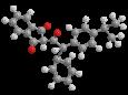 Изопропилфенацин (Изоиндан) - Трехмерная модель молекулы