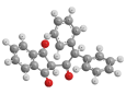 Трифенацин - Трехмерная модель молекулы дифенацина
