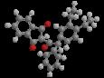 Трифенацин - Трехмерная модель молекулы диэтилфенацина