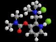Аминостигмин - Трехмерная модель молекулы
