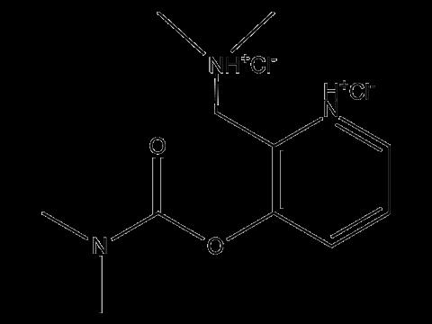 Аминостигмин - Структурная формула