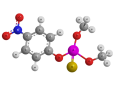 Паратион-метил - Трехмерная модель молекулы