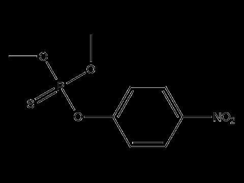 Паратион-метил - Структурная формула