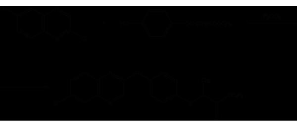 Хизалофоп-П-этил - 2-ой метод получения </p>хизалофоп-П-этила
