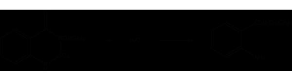 Бентазон - Гидролиз бентазона
