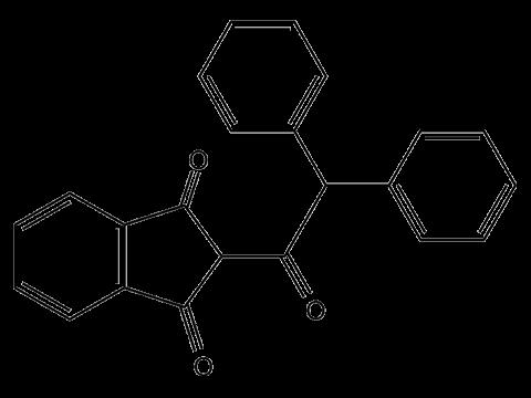 Тетрафенацин - Структурная формула
