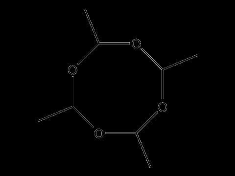 Метальдегид - Структурная формула