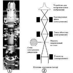 Электронная микроскопия - Электронный микроскоп