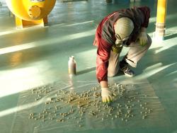 Фумигация помещений и свободных емкостей - Раскладка фумиганта