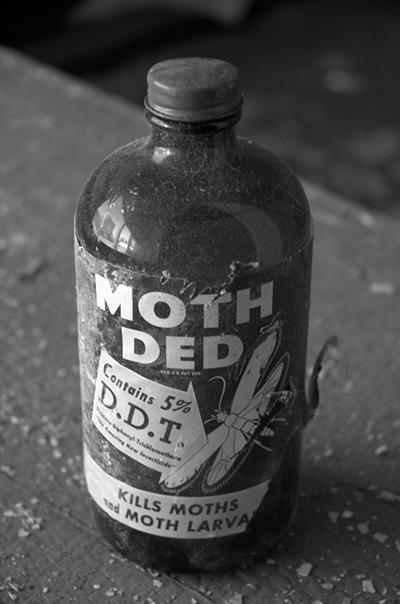 Пестицид - Убийца моли