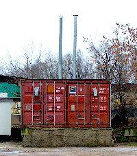 Фумигация в камерах - Переоборудованные контейнеры