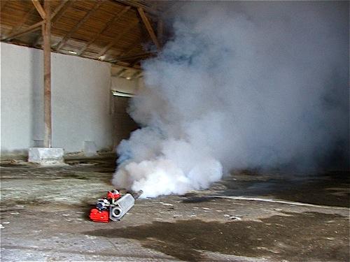Аэрозольное обеззараживание помещений - Горячий туман