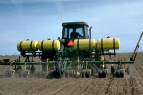 Основное внесение - Основное внесение азотного удобрения
