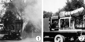Аэрозольная обработка - Экспериментальное использование</p> генератора аэрозоля.