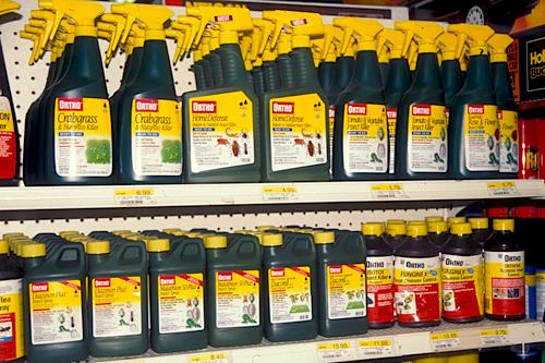 Опрыскивание - Готовые растворы пестицидов